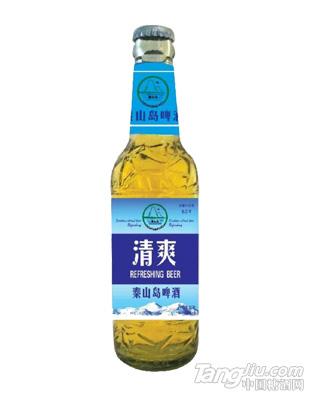 秦山岛啤酒清爽型瓶装