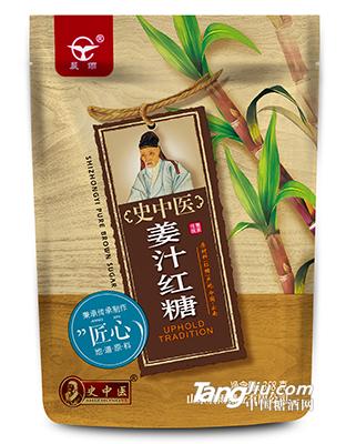 晨雨-姜汁红糖-358g