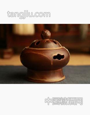 莲花香炉(圆)