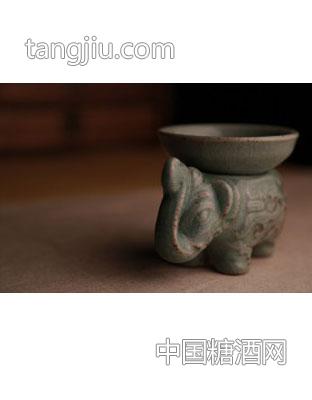 古瓷大象滤网架组
