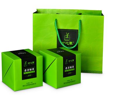 贵州有机锌硒茶 恋菁绿茶260系列