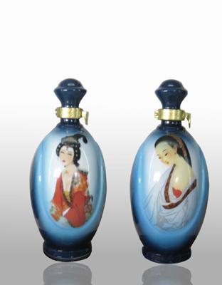 供应蓝色妖姬酒瓶