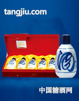 青花瓷酒 30年陈酿55度100mlx5瓶