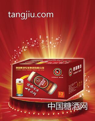 德国啤酒10度500ml 12罐装一箱