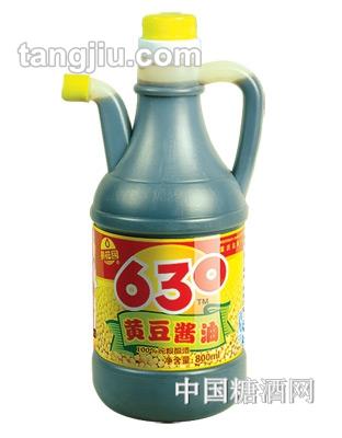 黄花园黄豆酱油630ml