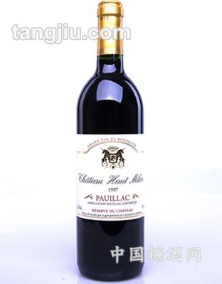 奥米隆城堡干红葡萄酒