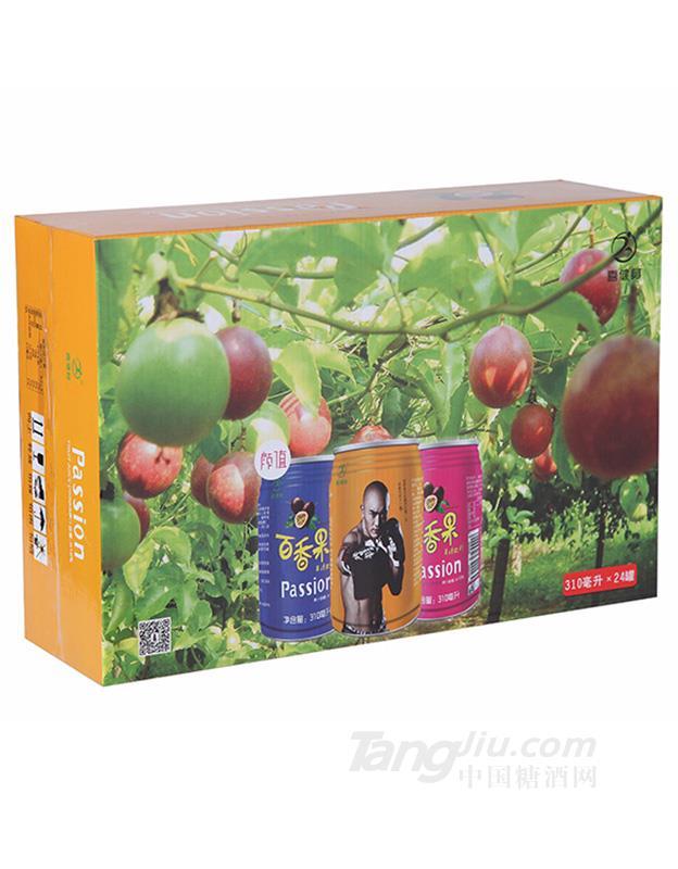 百香果果汁饮料箱