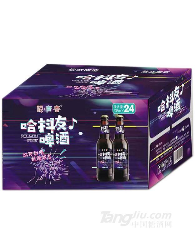 哈抖友啤酒(棕)-236mlx24