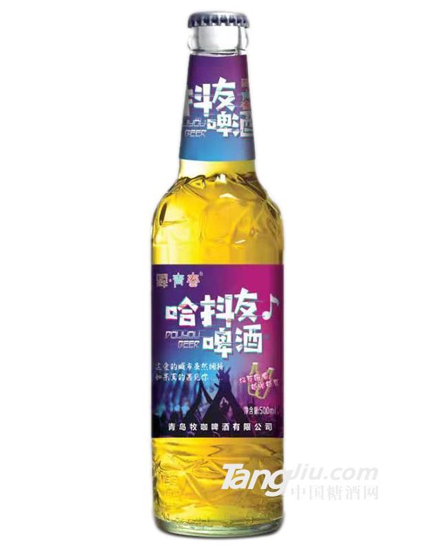 哈抖友啤酒黄啤酒-500ml
