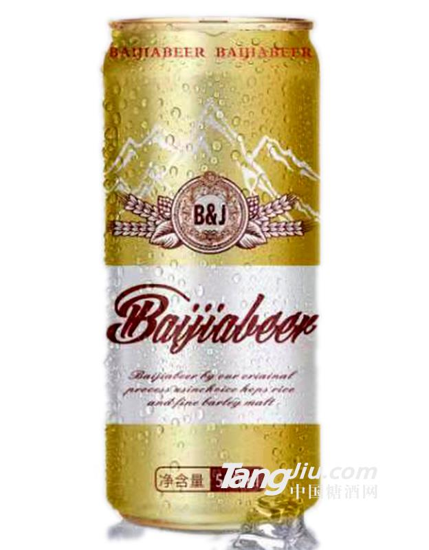 百佳啤酒罐装-500ml
