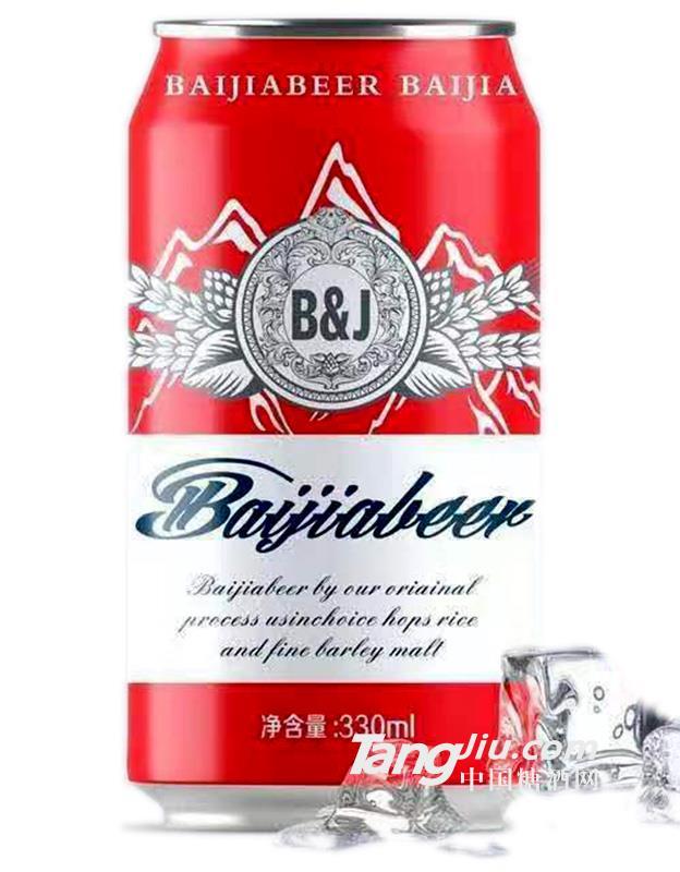 百佳啤酒-罐装-330ml