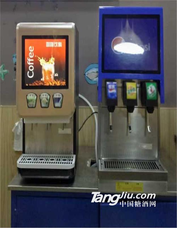 安阳汉堡炸鸡店供应免安装可乐机可乐糖浆包配送