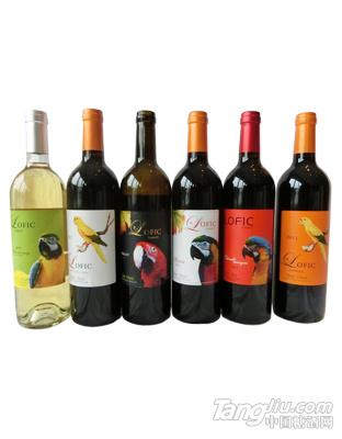 澳大利亚鹦鹉干红葡萄酒1