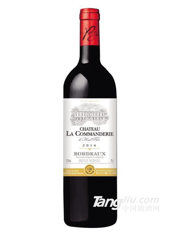 康蔓庄园干红葡萄酒 波尔多AOC