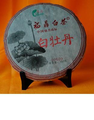 白牡丹茶饼