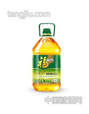 福临门黄金产地植物甾醇玉米油