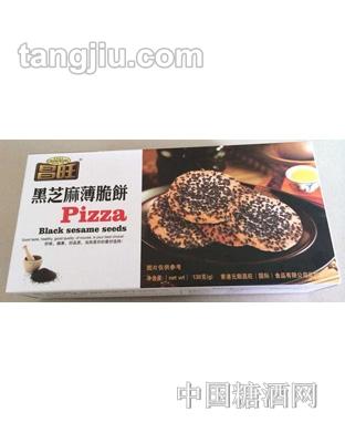 昌旺饼干类-黑芝麻薄脆饼138g