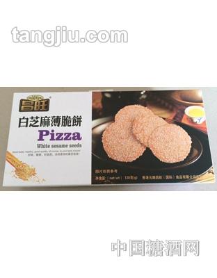 昌旺饼干类-白芝麻薄脆饼138g