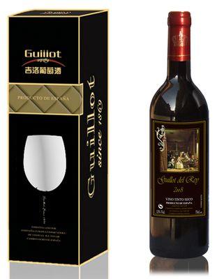 西班牙原装葡萄酒-吉洛皇家红葡萄酒-2008