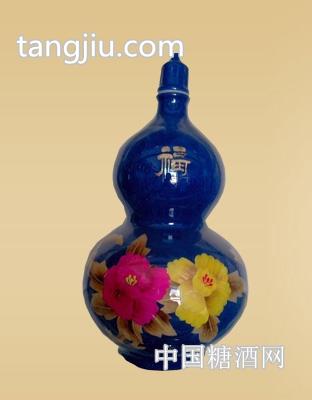 三彩葫芦原浆(3)