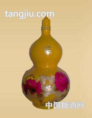 三彩葫芦原浆(2)