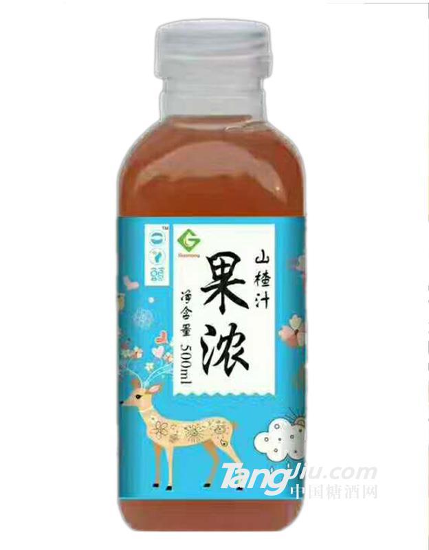 果浓 山楂汁500ml