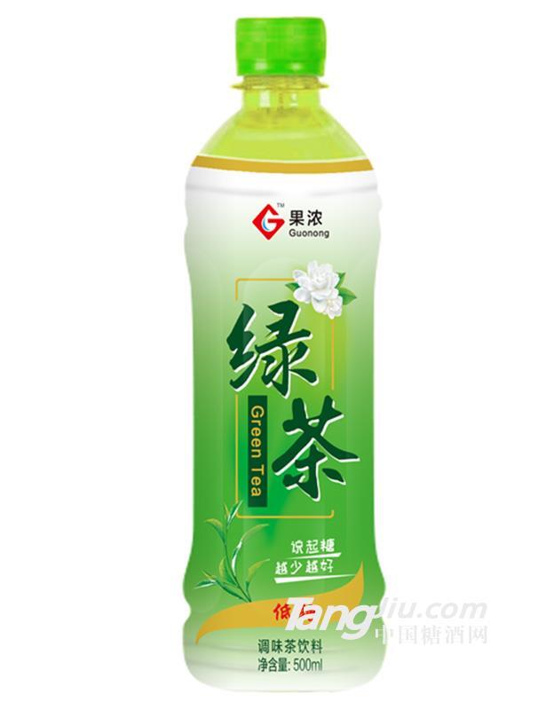 果浓绿茶 500ml
