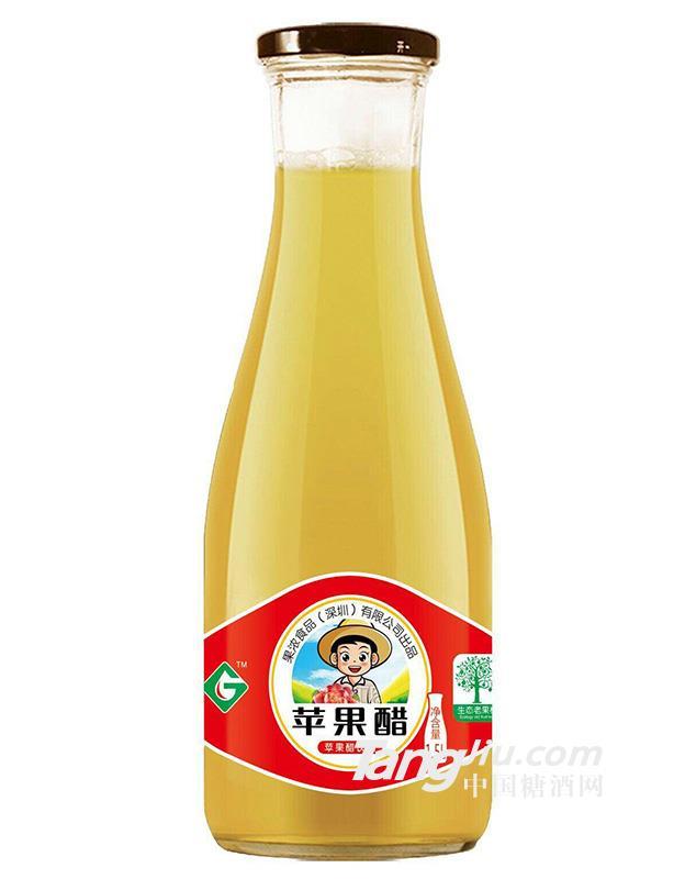 果浓 广口苹果醋5l