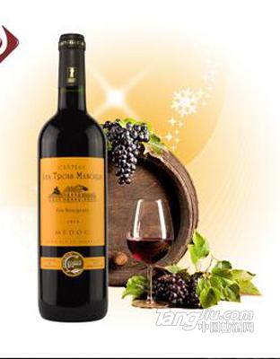 格源 法国原瓶进口红酒aoc波尔多干红葡萄酒