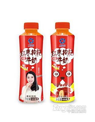 千碧食品红枣枸杞牛奶500ml