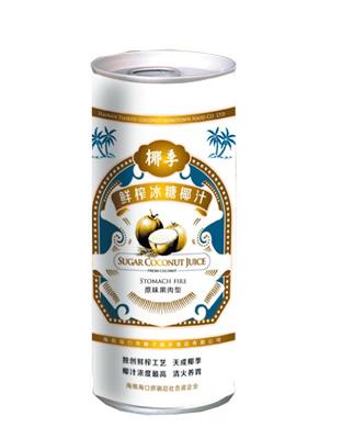 鲜榨冰糖椰汁1