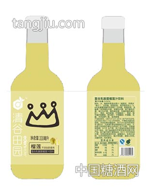 符合乳酸菌榴莲汁饮料