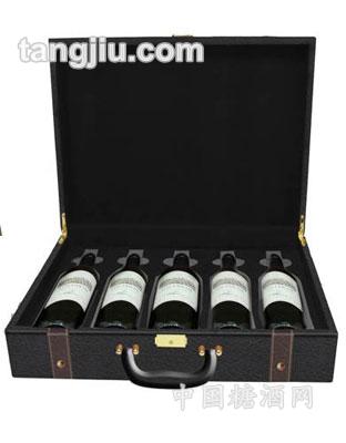 5支装红酒礼盒