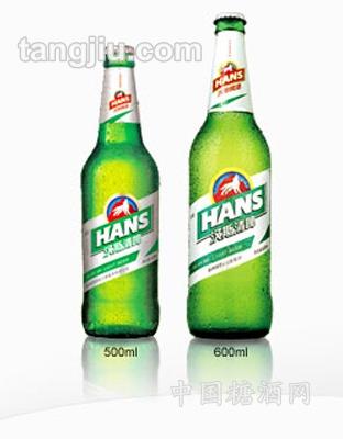 汉斯清啤600ml