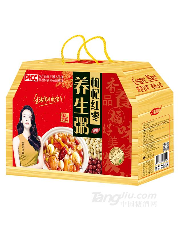 浩明枸杞红枣养身粥箱装