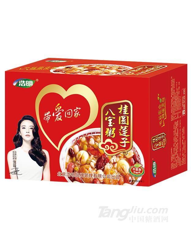 浩明桂圆莲子八宝粥箱装