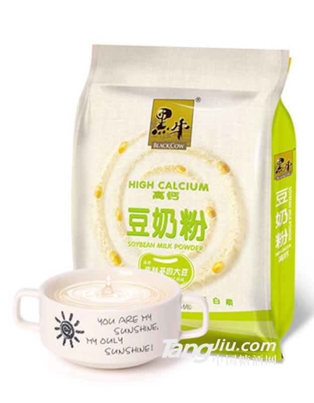 黑牛高钙豆奶粉-518g