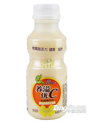 养溢优C-草莓味乳酸菌饮料-330mL