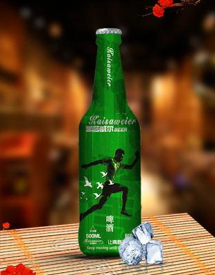 凯莎威尔绿瓶5000ML啤酒