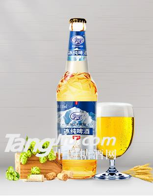 500ml冰纯啤酒