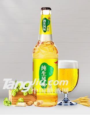 500l纯生风味啤酒