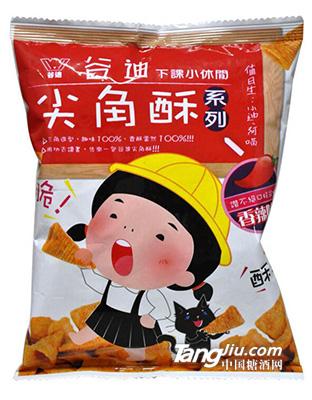 台湾食品 谷迪香辣味尖角酥72g