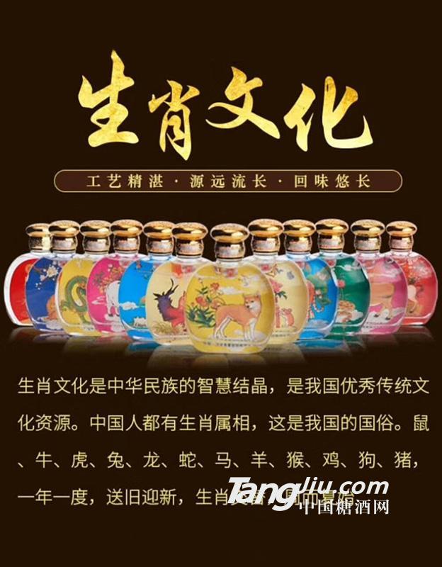 生肖文化海报