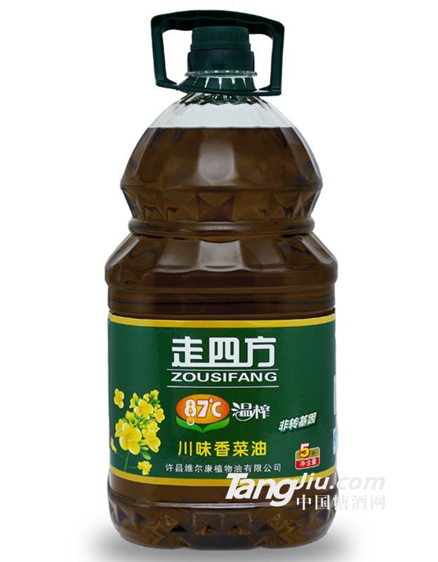 温榨川味香菜油5L