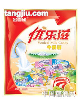 金喜雀优乐滋牛奶糖(大袋)200g
