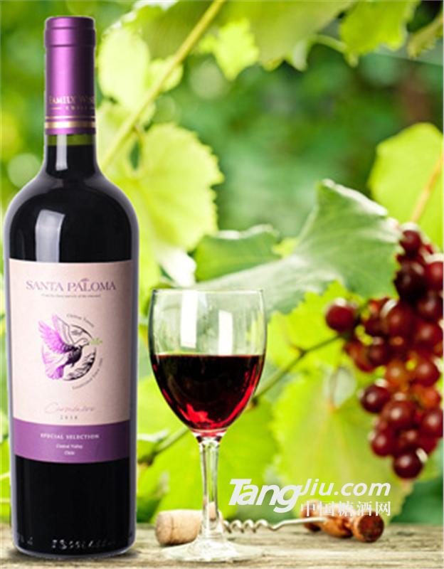 圣鸽佳美娜精选干红葡萄酒