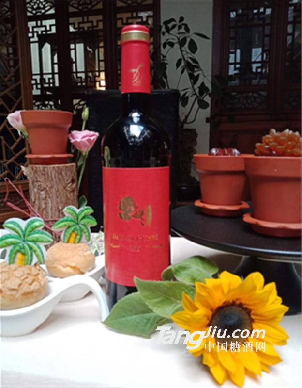 君·卡特 丹若干红葡萄酒