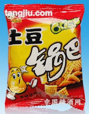 串烧孜然味土豆锅巴