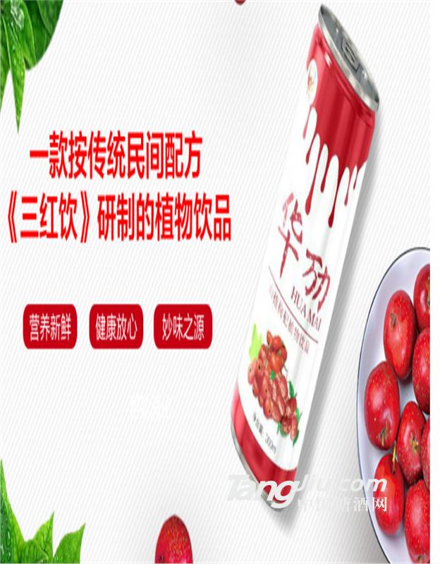 华劢山楂枸杞植物饮品