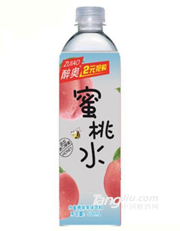 醉奥水蜜桃果味饮料500ml
